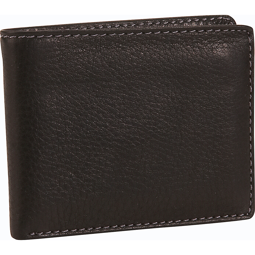 Buxton Lexington II Credit Card Billfold - Black - Work Bags & Briefcases, Men's Wallets