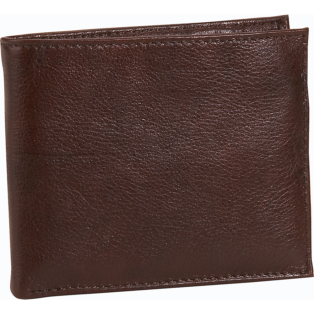 Buxton Lexington II Credit Card Billfold - Brown - Work Bags & Briefcases, Men's Wallets
