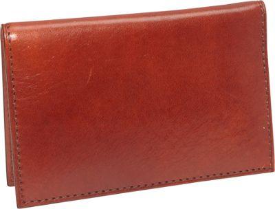 Bosca Old Leather Calling Card Case Cognac - Bosca Men's Wallets