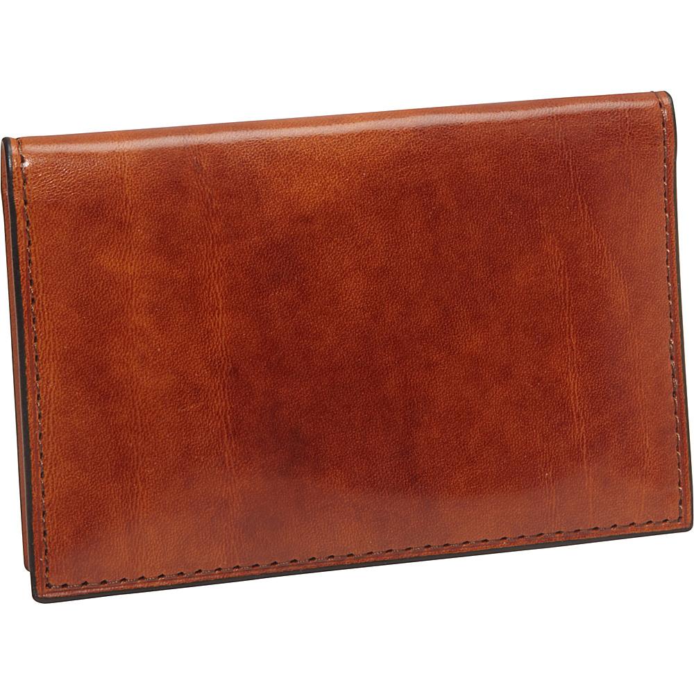 Bosca Old Leather Calling Card Case Amber - Bosca Men's Wallets