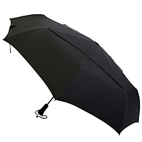 WindPro Auto Open/Close Jumbo Mini Umbrella Black