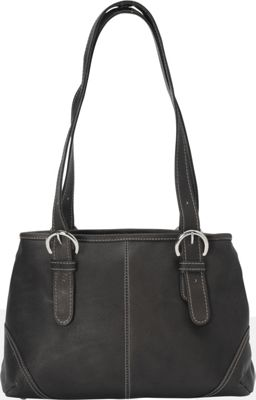 Piel Medium Buckle Handbag