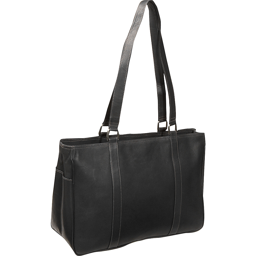 Piel Medium Carry-All Tote - Black - Work Bags & Briefcases, Women's Business Bags