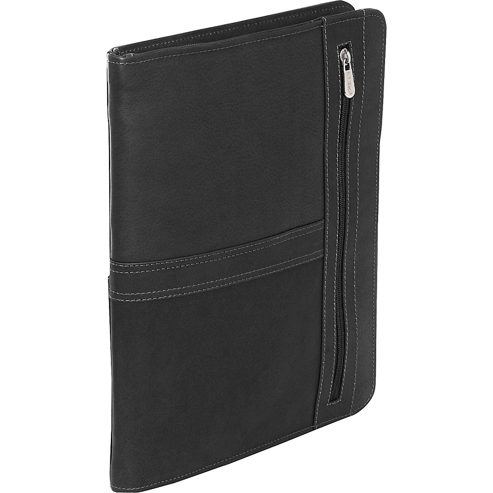 Piel Three-Way Envelope Padfolio - Black - Work Bags & Briefcases, Business Accessories