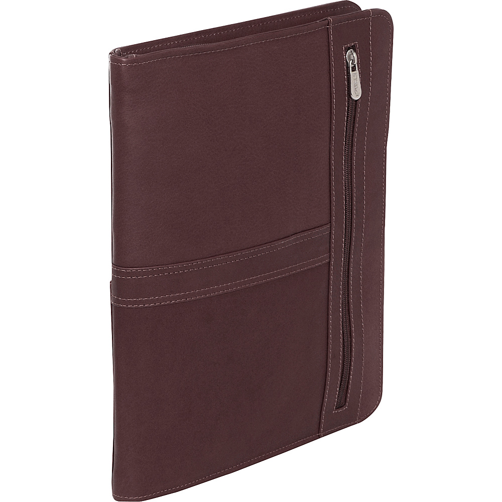 Piel Three-Way Envelope Padfolio - Chocolate - Work Bags & Briefcases, Business Accessories