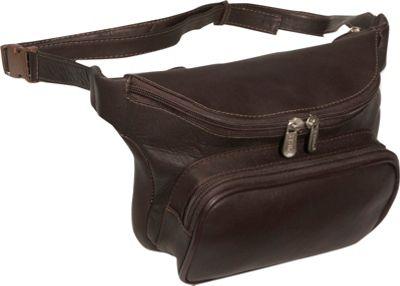 Piel Large Classic Waist Bag - Chocolate