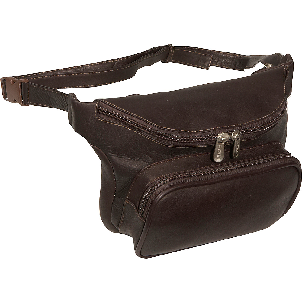 Piel Large Classic Waist Bag - Chocolate - Backpacks, Waist Packs