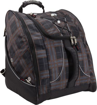 Athalon Everything Boot Pack Plaid - Athalon Ski and Snowboard Bags