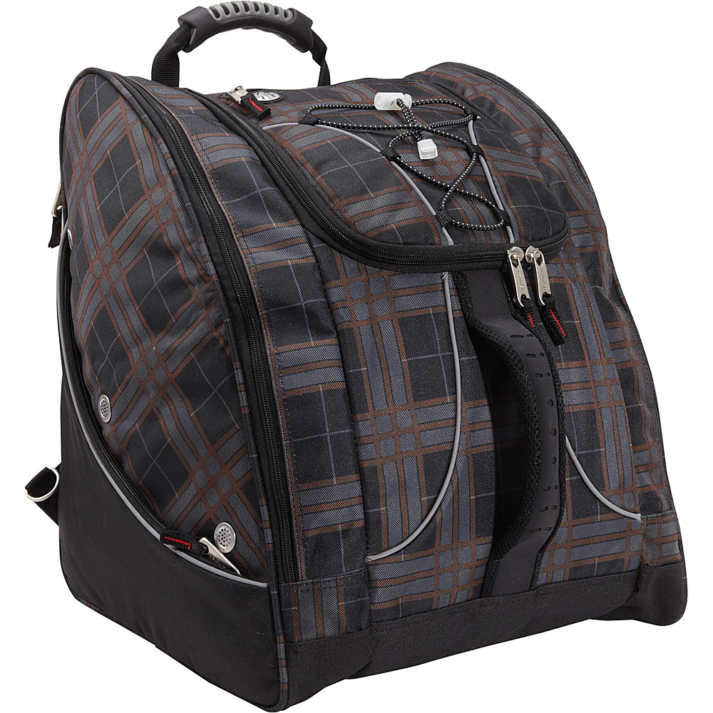 Athalon Everything Boot Pack Plaid Athalon Ski and Snowboard Bags