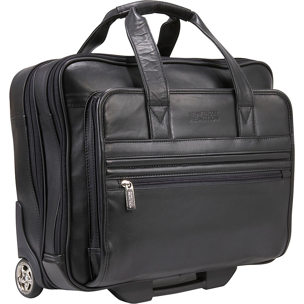 Kenneth Cole Reaction Keep On Rollin Wheeled Laptop Executive Case Black - Kenneth Cole Reaction Wheeled Business Cases - Work Bags & Briefcases, Wheeled Business Cases