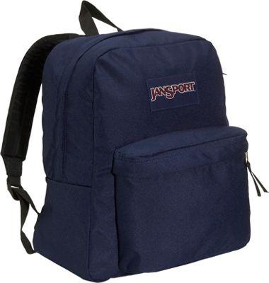 JanSport Spring Break Navy - JanSport Everyday Backpacks