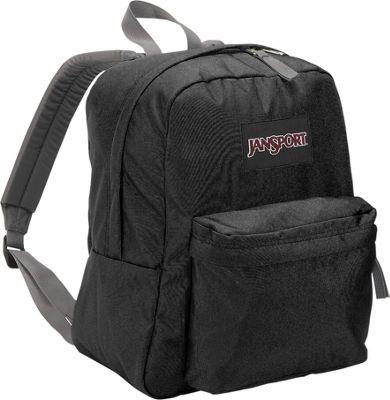 JanSport Spring Break Black - JanSport Everyday Backpacks