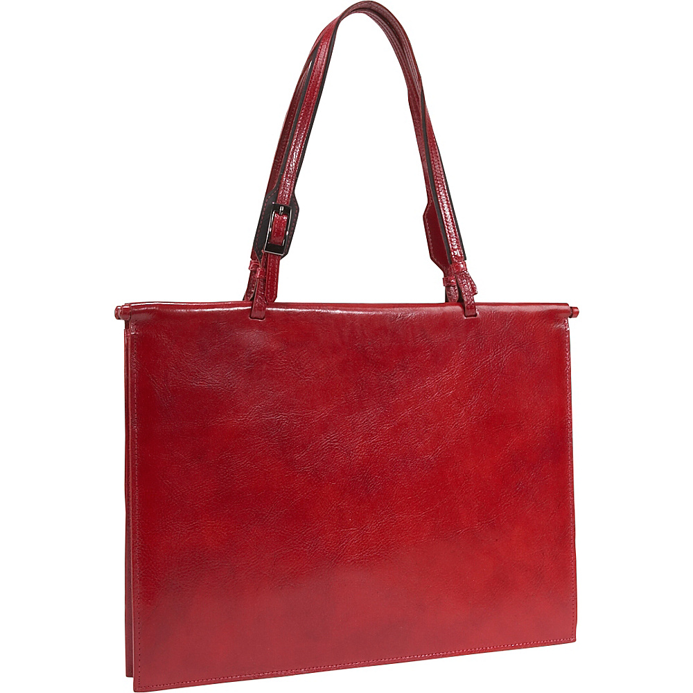 Scully Handbag Brief Red