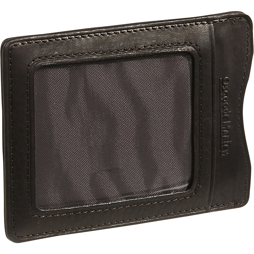 Osgoode Marley Cashmere Magnetic Clip Wallet - Mocha - Work Bags & Briefcases, Men's Wallets
