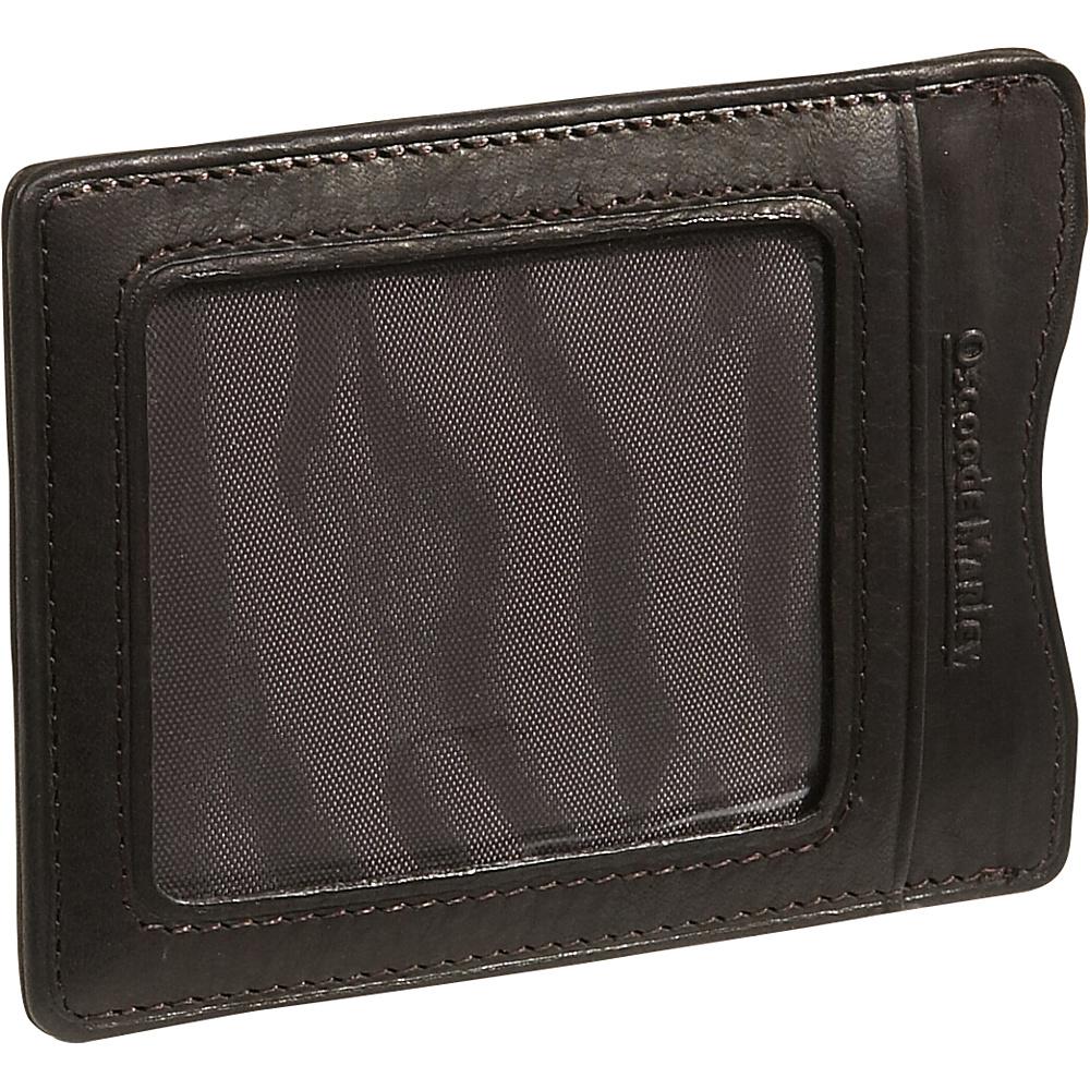 Osgoode Marley Cashmere Magnetic Clip Wallet Mocha