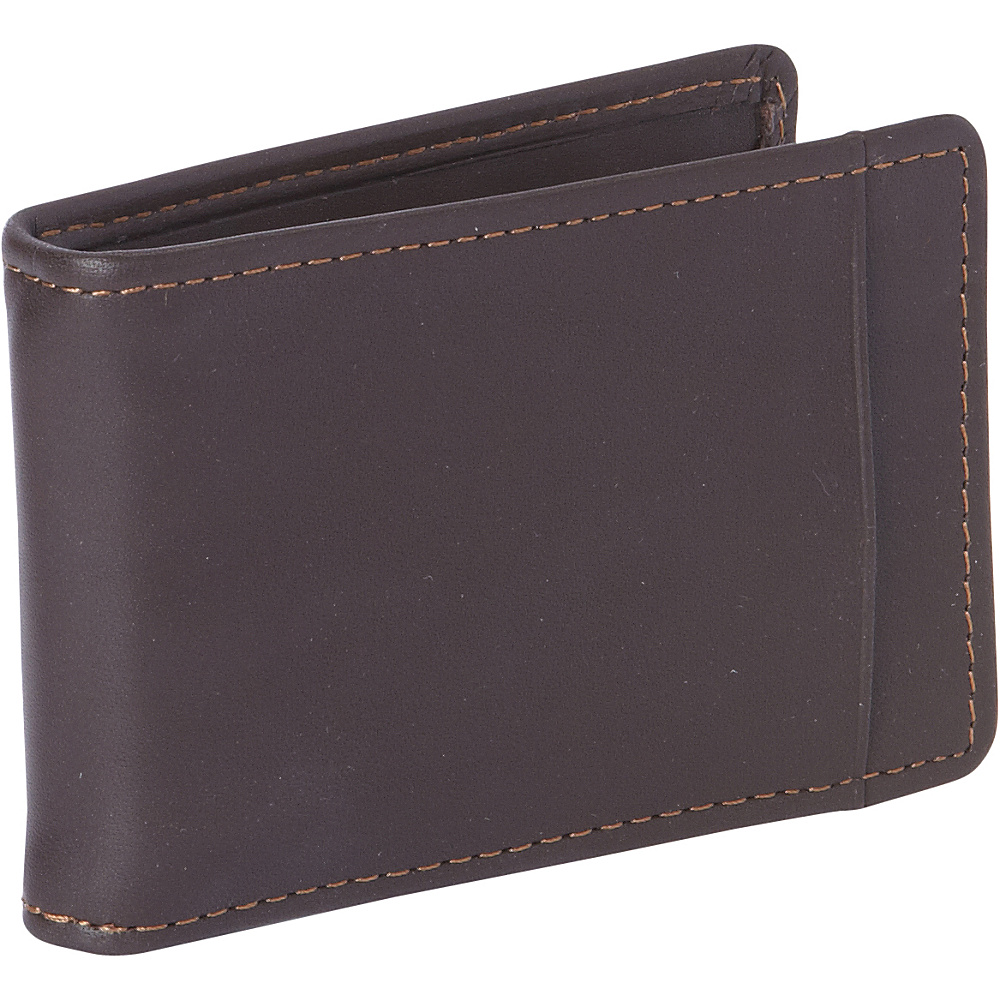 Dopp Regatta 88 Series Front Pocket Clip Flip Mahogany - Dopp Mens Wallets - Work Bags & Briefcases, Men's Wallets