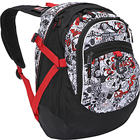 Fat Boy Pack Ink Riot, Black, Red Line