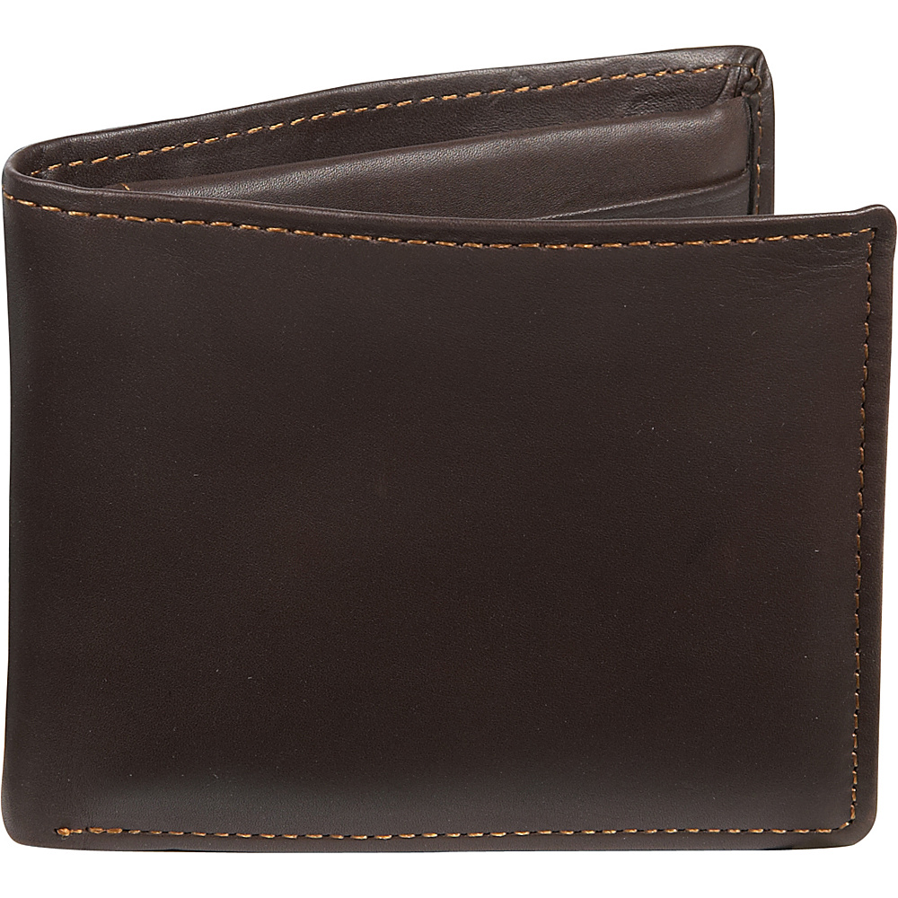 Dopp Regatta 88 Series Convertible Thinfold - Mahogany - Work Bags & Briefcases, Men's Wallets