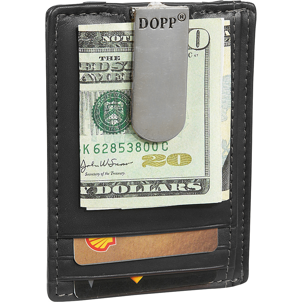 Dopp Regatta 88 Series Front Pocket Wallet - Black - Work Bags & Briefcases, Men's Wallets