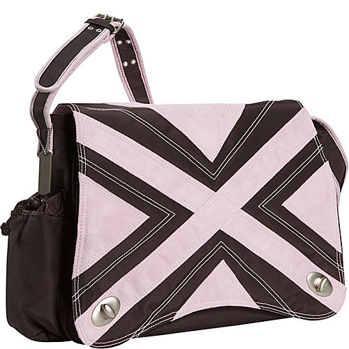 kalencom hannah 39 s messenger diaper bag. Black Bedroom Furniture Sets. Home Design Ideas