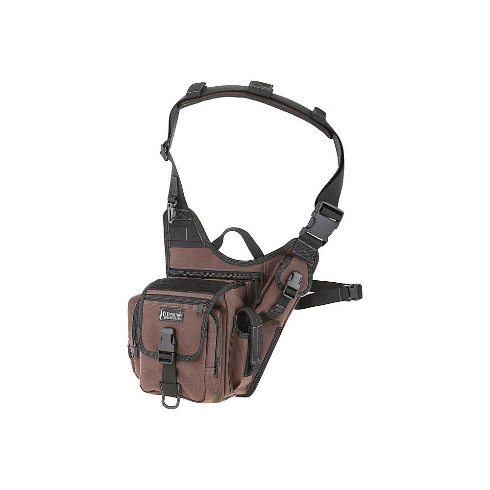 Maxpedition FATBOY VERSIPACK Dark Brown Maxpedition Day Hiking Backpacks