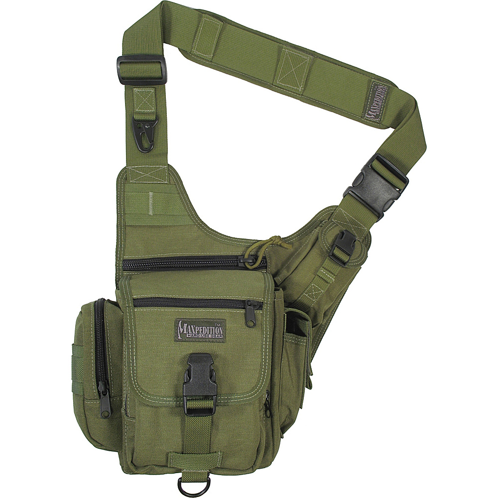 Maxpedition FATBOY VERSIPACK - Green - Outdoor, Day Hiking Backpacks