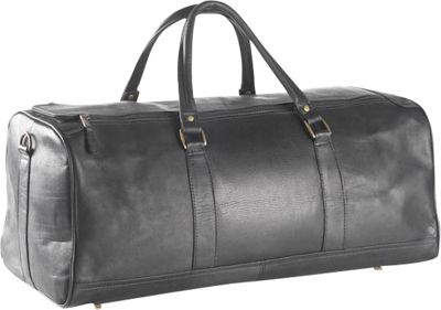 Clava Large Barrel 23 inch Duffel - Vachetta Black