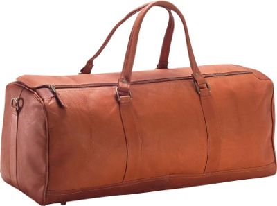 Clava Large Barrel 23 inch Duffel - Vachetta Tan