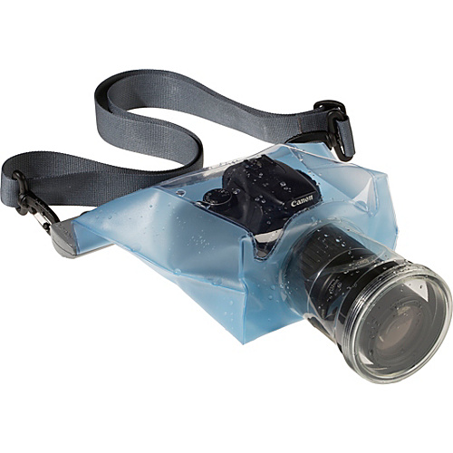 Aquapac SLR Camera Case with Hard Lens As shown - Aquapac Camera Cases