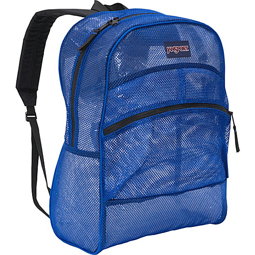 JanSport Mesh Pack Blue Streak - Backpacks, School & Day Hiking Backpacks