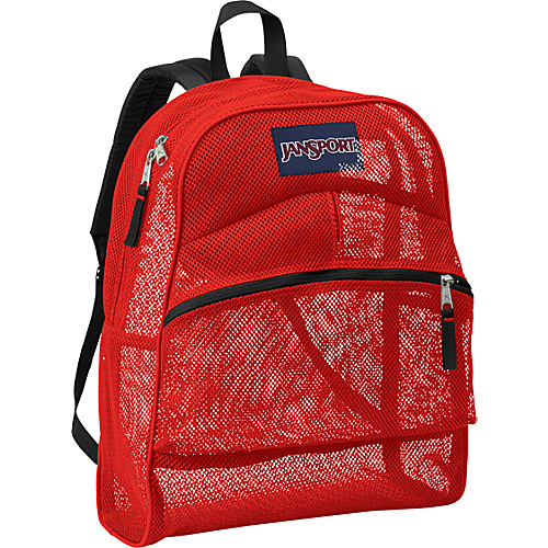 Jansport Mesh Pack Backpack - High Risk Red