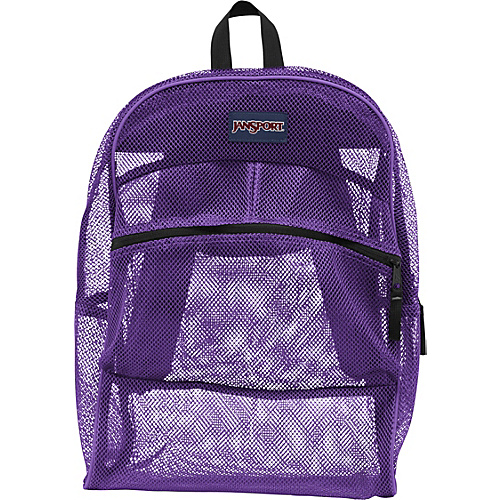 JanSport Mesh Pack Purple Night - JanSport School & Day Hiking Backpacks