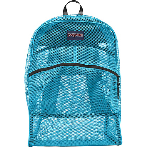 JanSport Mesh Pack Mammoth Blue - JanSport School & Day Hiking Backpacks