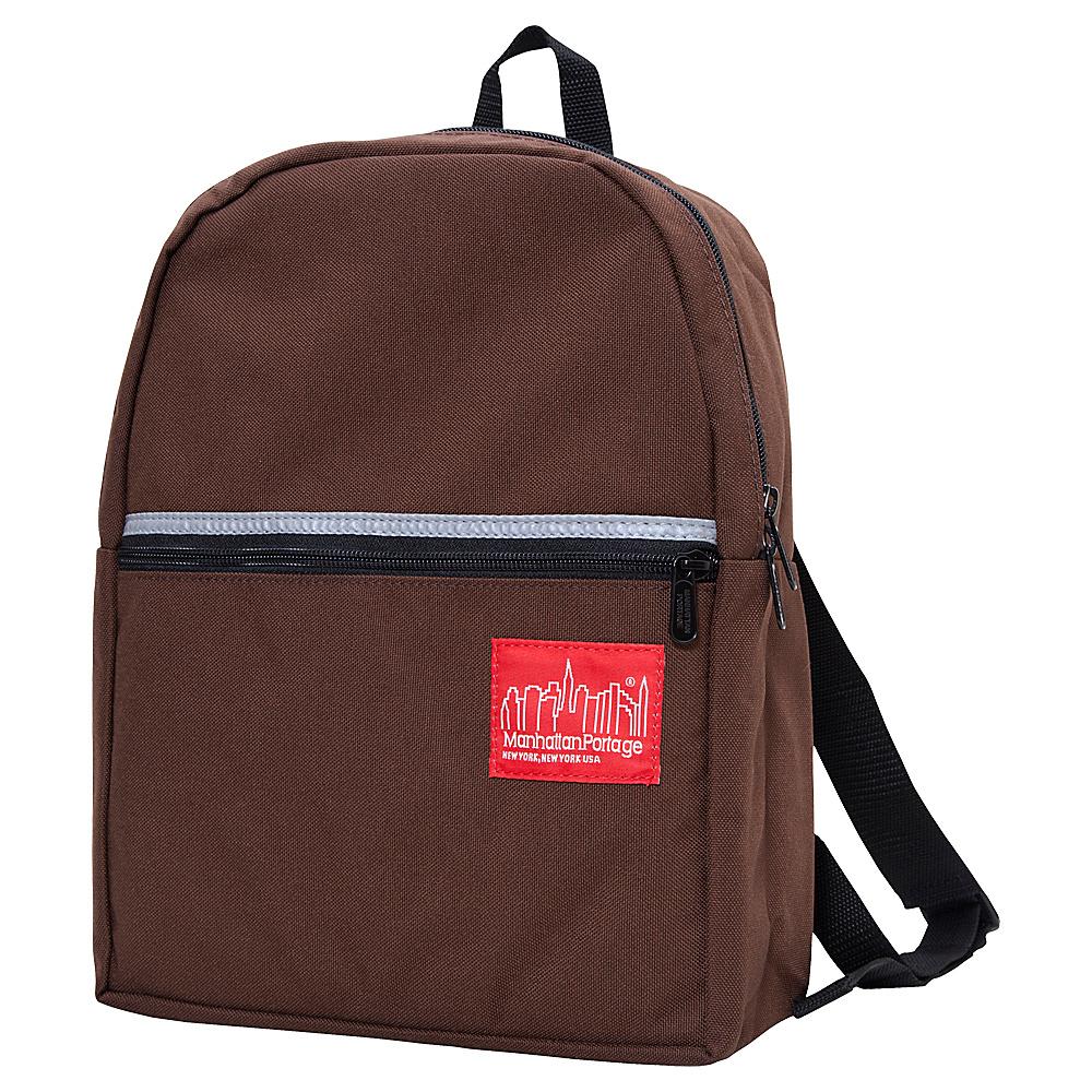 Manhattan Portage Kid Backpack - Dark Brown - Backpacks, Everyday Backpacks
