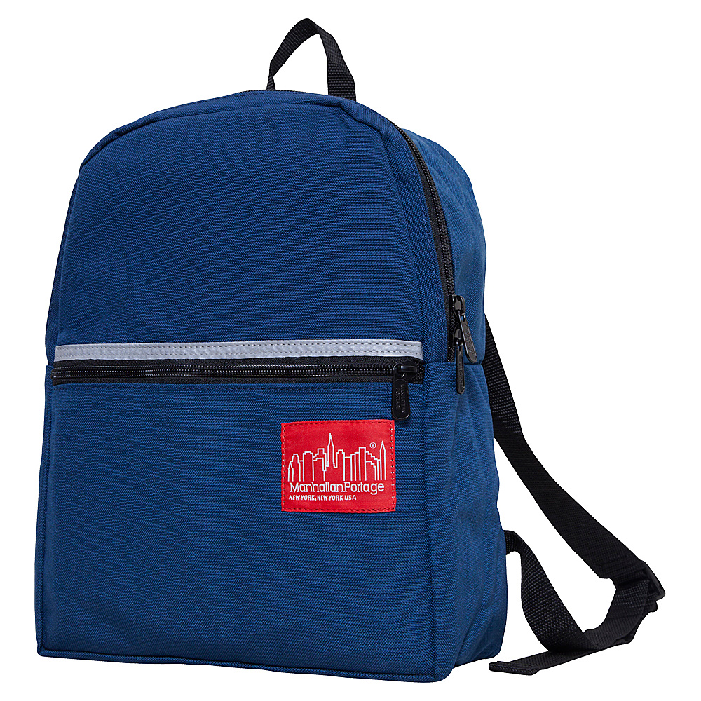 Manhattan Portage Kid Backpack - Navy - Backpacks, Everyday Backpacks