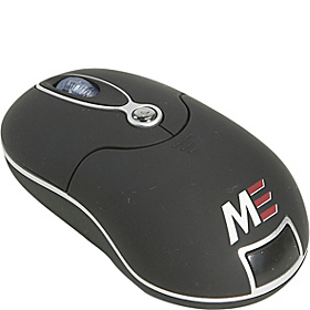 Ultra Portable Wireless Optical Mouse Black