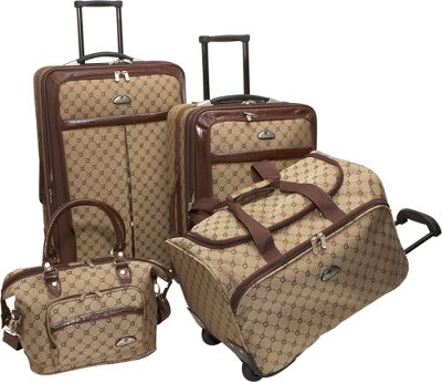 American Flyer Af Signature 4 Piece Luggage Set Ebags Com