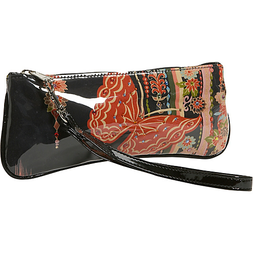 M. Andonia Madame Butterfly Wristlet - Clutch