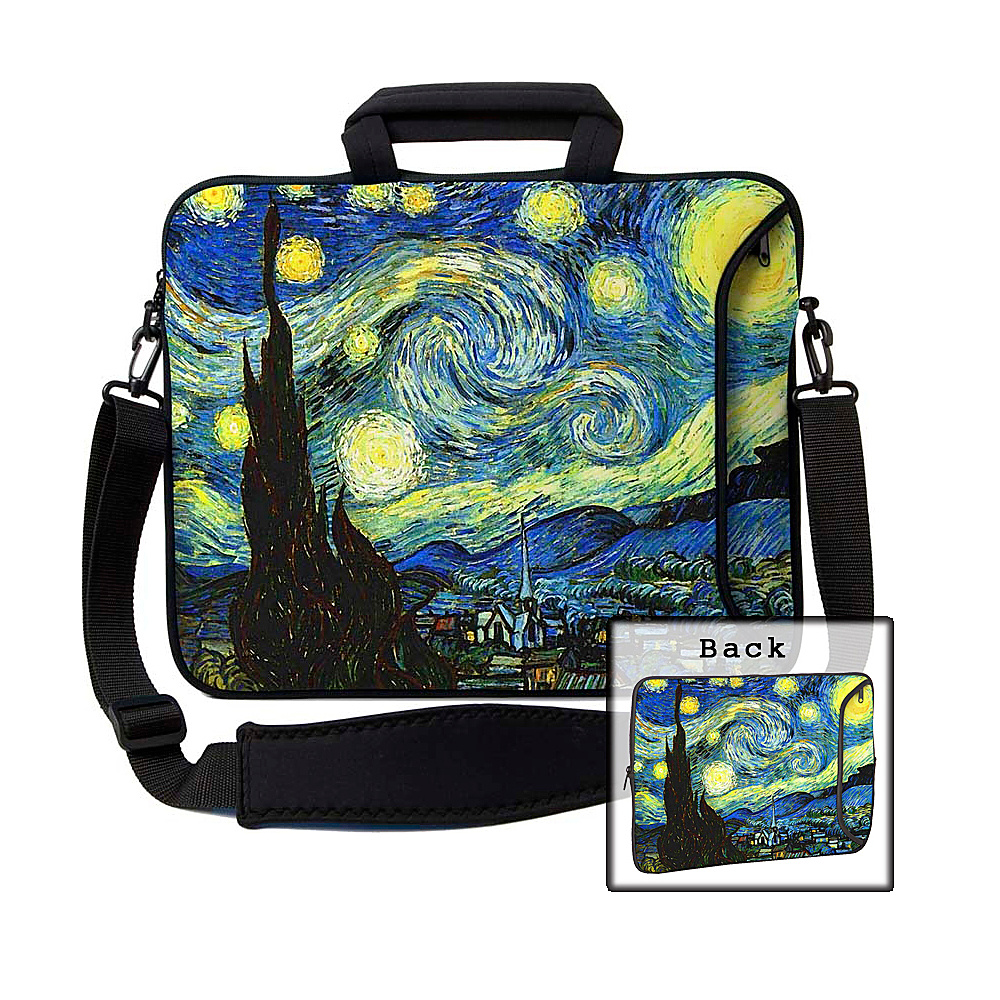 Designer Sleeves 15 Executive Laptop Sleeve Starry Night - Designer Sleeves Electronic Cases - Technology, Electronic Cases