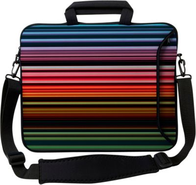Designer Sleeves 15 inch Executive Laptop Sleeve Retro Stripes - Designer Sleeves Electronic Cases