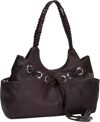 Piel Braided Hobo - Chocolate