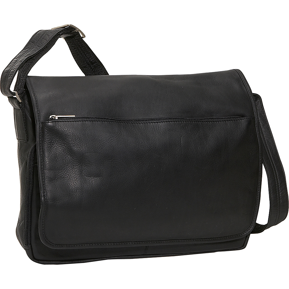 David King & Co. Laptop Messenger Bag - Black - Work Bags & Briefcases, Messenger Bags