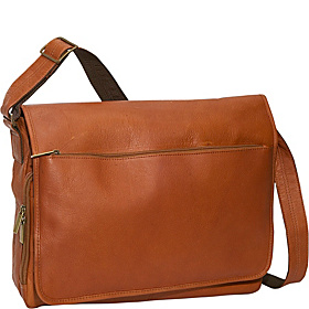 Laptop Messenger Bag Tan