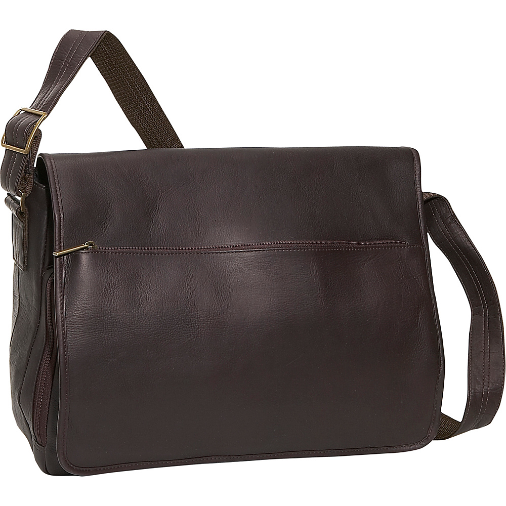 David King & Co. Laptop Messenger Bag Cafe - David King & Co. Messenger Bags - Work Bags & Briefcases, Messenger Bags