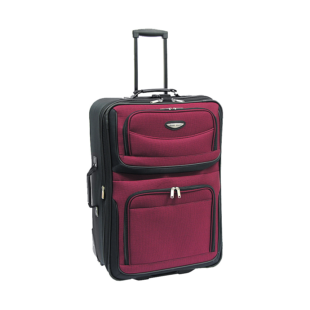 Travelers Choice Amsterdam 25 in. Expandable Rolling - Luggage, Softside Checked