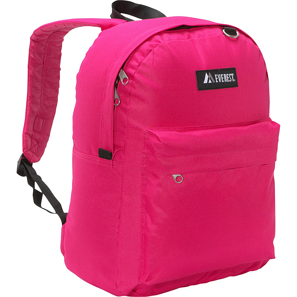 Everest Classic Backpack Hot Pink - Everest Everyday Backpacks - Backpacks, Everyday Backpacks