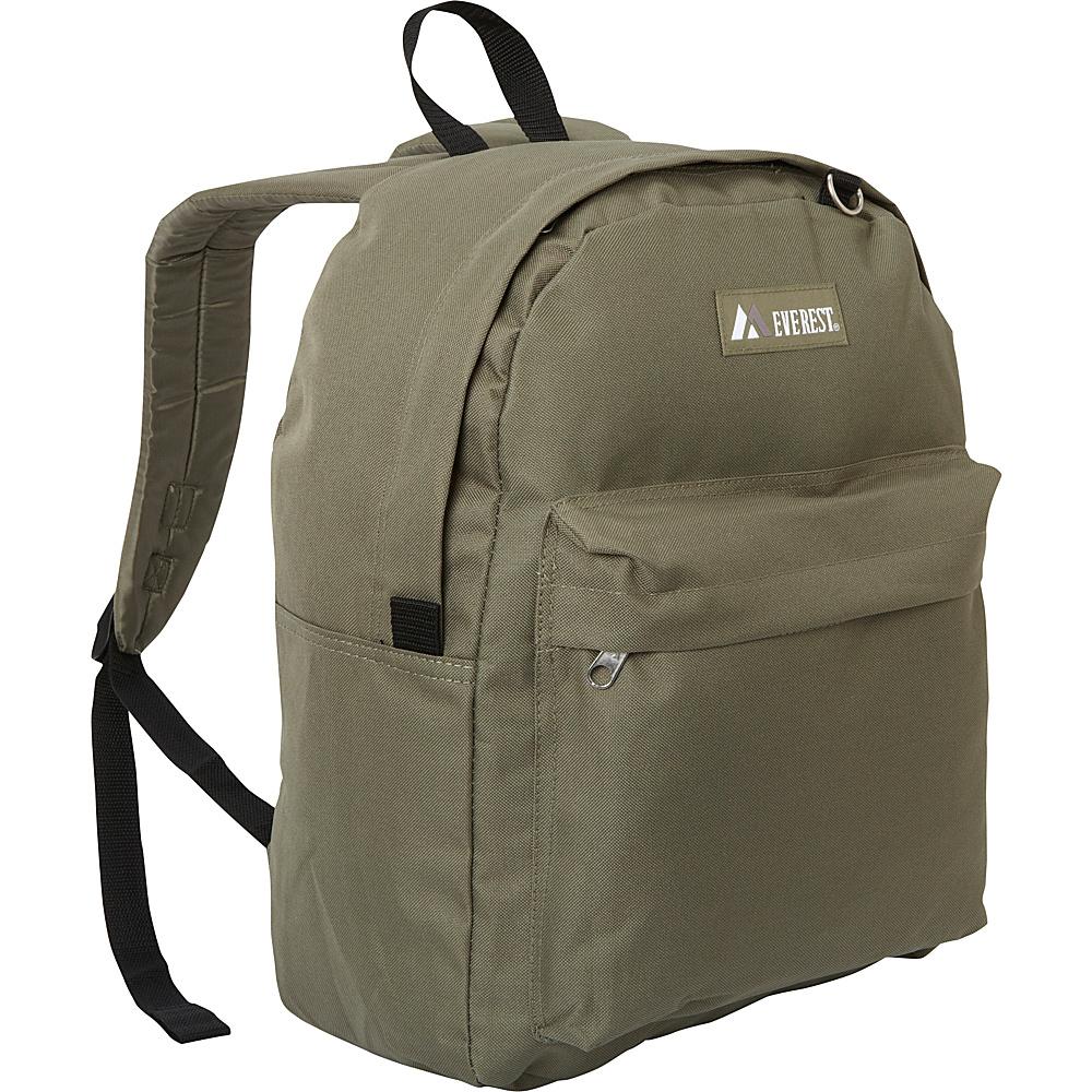 Everest Classic Backpack Olive - Everest Everyday Backpacks - Backpacks, Everyday Backpacks