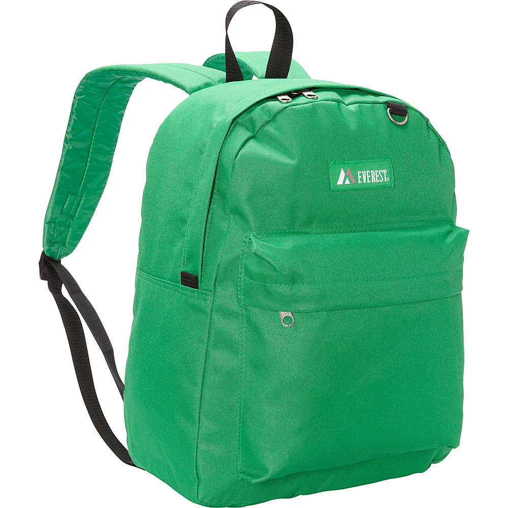 Everest Classic Backpack Emerald Green Everest Everyday Backpacks