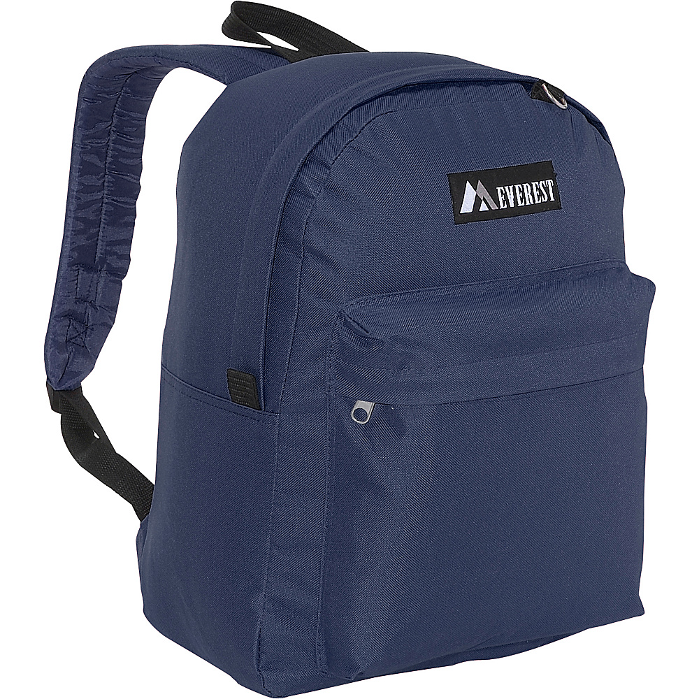 Everest Classic Backpack - Navy - Backpacks, Everyday Backpacks