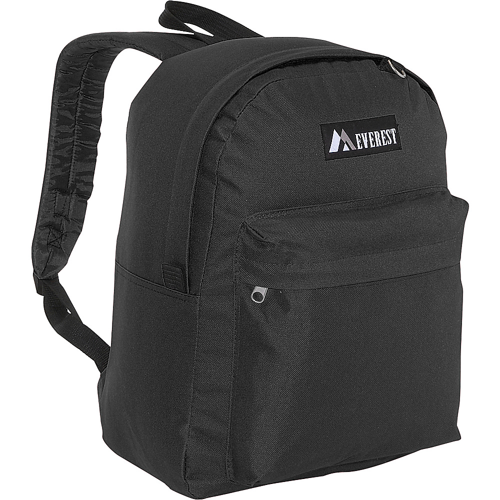 Everest Classic Backpack - Black - Backpacks, Everyday Backpacks